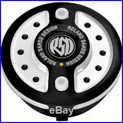0703-0600 Gaz Cap avec LED Radial Contraste Couper Harley Davidson Softail Route