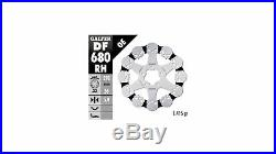 0.432.981/9 Freins Galfer Disque avec ABE Crâne DF680 Harley Softail Sportster