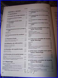 17 Manuel d'atelier Entretien Revue technique Harley davidson SOFTAIL 2001
