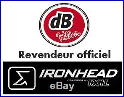 2 Silencieux Ironhead Hc1-3b Black Harley-davidson Softail Breakout 2013 / 2016