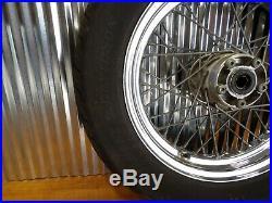 97-99 Harley Dyna Fxd Sportster XL Softail Arrière 16 Roue Jante avec Pneu