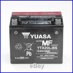 Batterie 12V 18AH YTX20L-BS Yuasa 51891 Harley-Davidson FXSTD Softail Deuce