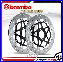 Brembo Serie Oro arrière frein disque Harley 1340 Springer Softail 2000 0002