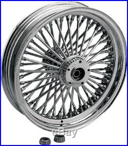 Chrome Fat papa roue arrière 17x6 HARLEY DAVIDSON SOFTAIL Drag Specialties