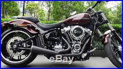 Echappement Danmoto Highwayman Harley Davidson Softail 2018 Wide Tire HM47