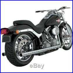 Escape Pour Harley-Davidson 12-17 Softail Duaux Vance & Hines True Double