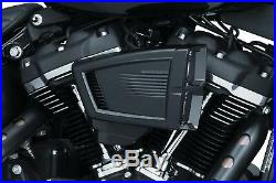 Filtre Air Pour Harley-Davidson Softail Milwaukee Huit Hypercharger est Black