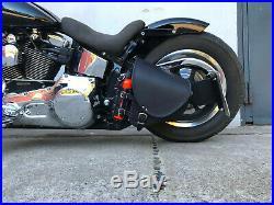 Harley Davidson Diablo Noir Fatbob 2018 Streetbob Softail Sacoche de Selle