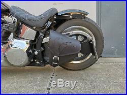 Harley Davidson Noir Eagle Noir Softail 1981-2019 Sacoche Oscillant HD