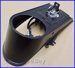 Harley Original Réservoir Console Noir Tableau de Bord Tiret Noir Softail