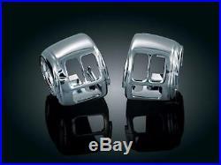 Kit Caches De Commutateurs Kuryakyn Softail & Dyna De 1996 A 2011 Chrome
