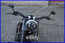 LED Daymaker pour Harley Davidson Gros Garçon Softail Heritage Deluxe Noir