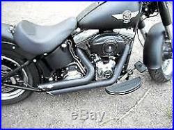 Ligne complète Vance & Hines shortshots stage2 Harley Davidson