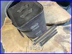 Loki Braun Bagages Valise Harley Davidson HD Softail Fatbob Streetbob Sportster