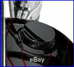 Original Harley-davidson Niveau de Carburant LED Noir Softail 08-17 75027-08D
