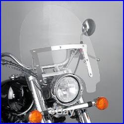 Pare Brise Puig Highway pour Harley Davidson Softail Slim (FLS) 12-16 Bulle HP