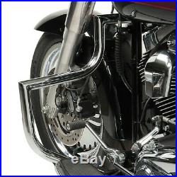 Pare carter pour Harley Davidson Heritage Softail Classic 00-17 CR ST1 chrome
