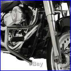 Pare carter pour Harley Davidson Softail 00-17 Craftride ST1 chrome