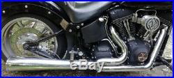 Pot D'échappement 2/1vance & Hines Pour Harley Davidson Softail
