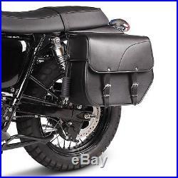 Sacoche Cavalière Kentucky pour Harley Davidson CVO Softail Breakout noir