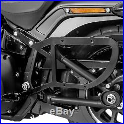Sacoche Lateral et support pour Harley Davidson Softail 18-19 Tacoma 28L
