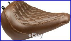 Seat solo trpr diabrn HARLEY DAVIDSON ABS SOFTAIL FAT BOY FLFBS Mustang