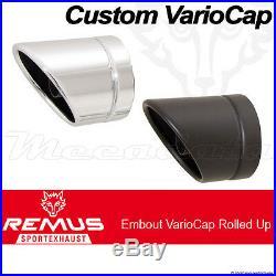Silencieux échappement Remus Custom Inox Harley-Davidson Softail FS2 07-/13-/14