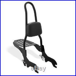 Sissy Bar CSL + porte bagages pour Harley-Davidson Softail 18-19 noir
