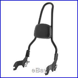 Sissy Bar CSXL + porte bagages pour Harley-Davidson Softail Fat Bob 18-19 noir