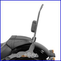 Sissy Bar CSXL pour Harley-Davidson Softail Low Rider 18-20 inox