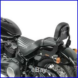 Sissy Bar pour Harley Davidson Softail Standard 2020 CSS noir