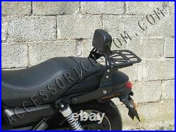 Sissybar Sissy BAR Dossier Dos Porte-Bagages Harley Davidson Street 750