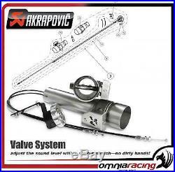 Système de valve Pot d'echappement Akrapovic HD Softail/Fat Boy/Deluxe