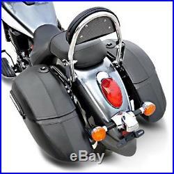 Valises rigides 33l pour Harley Davidson Softail Bad Boy/Blackline/Breakout/Slim