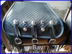 Véritables Sacoches D'origine Harley Davidson Softail Springer Héritage Classic